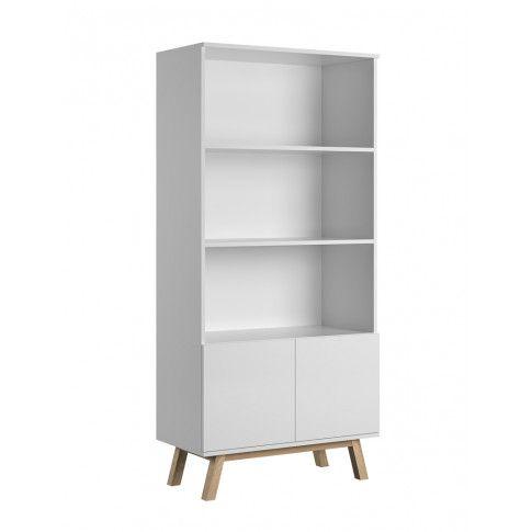 Zdjęcie produktu Skandynawski regał Ukla - biały.