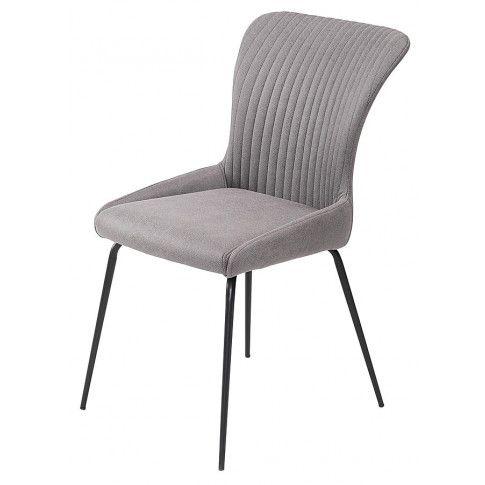Zdjęcie produktu Minimalistyczne krzesło Zoer - popielate.