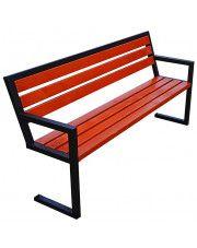 Nowoczesna ławka parkowa Francis 150 cm - 84 kolory