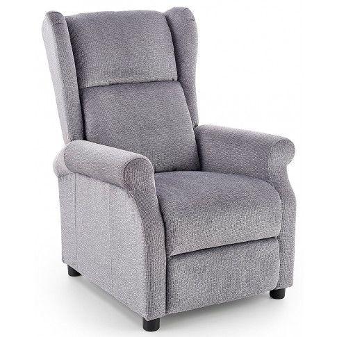 Zdjęcie produktu Rozkładany fotel wypoczynkowy Alden - popielaty.