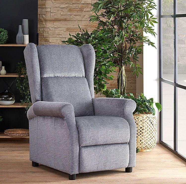 Rozkładany fotel relaksacyjny do leżenia Alden