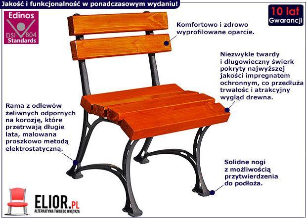 Krzesło ogrodowe Figaro