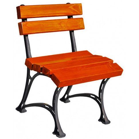 Zdjęcie produktu Drewniane krzesło ogrodowe Figaro - 7 kolorów.