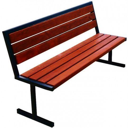Zdjęcie produktu Nowoczesna ławka parkowa Kalipso 2X 180 cm - 84 kolory.