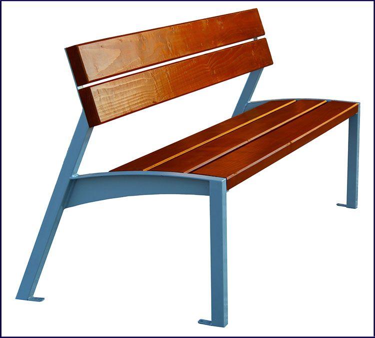 ławka drewniana parkowa Chess 3X