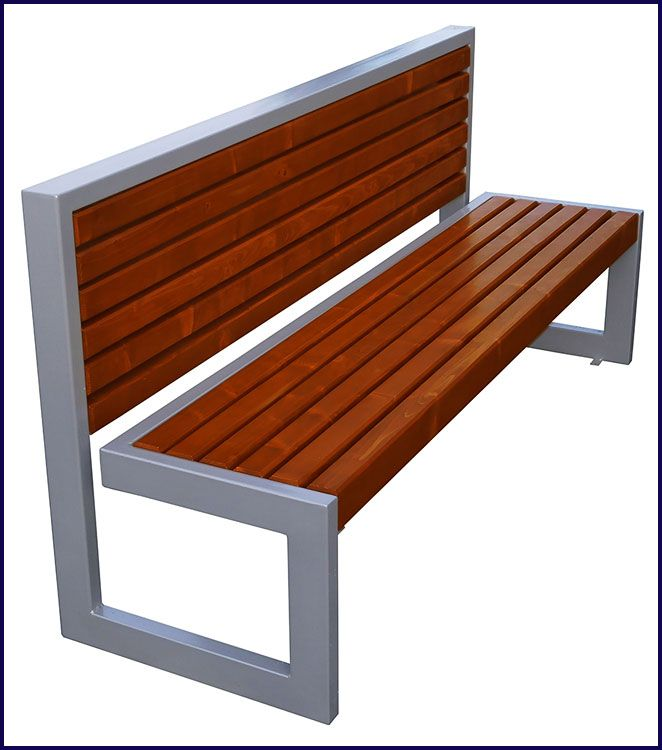ławka drewniana parkowa Bonita 2X