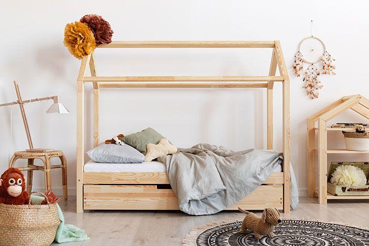 Dwuosobowe łóżko domek drewniany Miles 14X