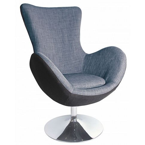 Zdjęcie produktu Obrotowy fotel uszak wypoczynkowy Zoltis - popielaty.
