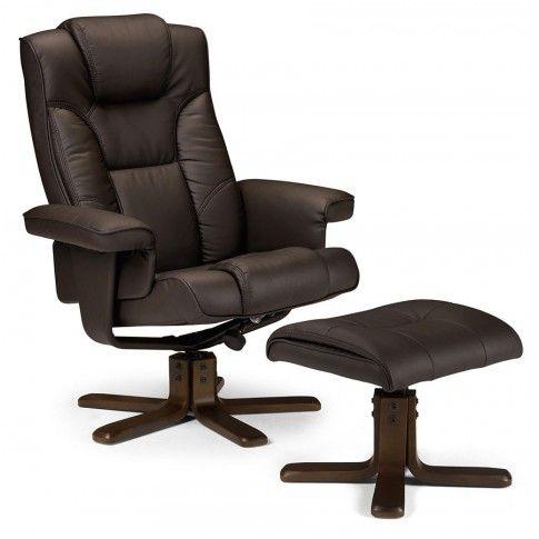 Zdjęcie produktu Fotel wypoczynkowy z podnóżkiem Bornes.