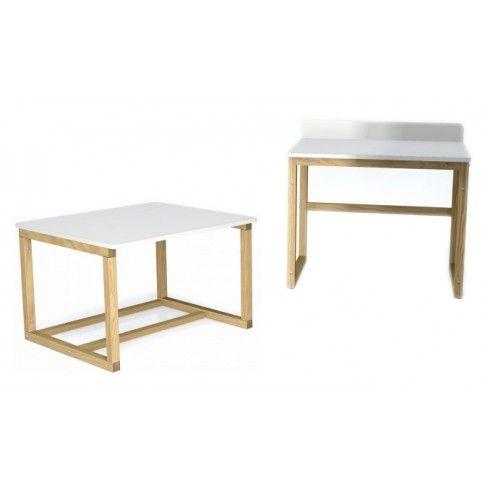 Zdjęcie produktu 2 w 1 skandynawskie biurko i stolik Inelo X10.