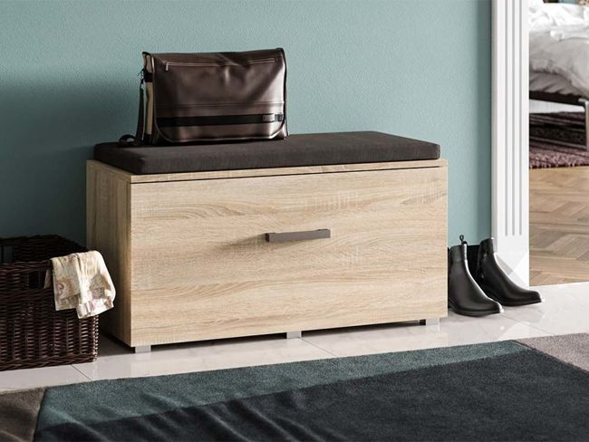 Praktyczna szafka na buty Adon - dąb sonoma