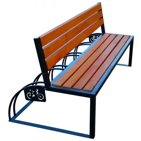 Zdjęcie produktu Ławka parkowa Ronson 180 cm - 84 kolory.