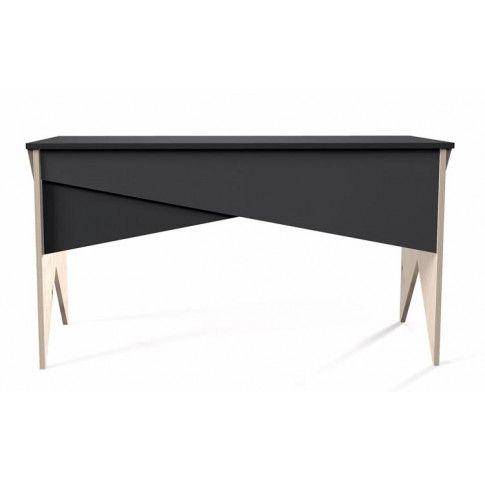Zdjęcie produktu Czarne oryginalne biurko Carlos X2.