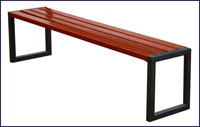 ławka drewniana parkowa Vintuna
