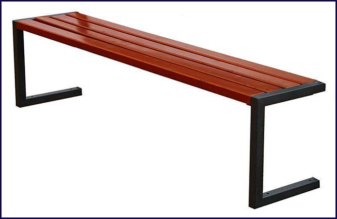 ławka drewniana parkowa Elsanta