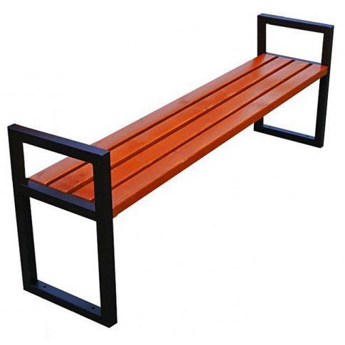 Zdjęcie produktu Nowoczesna drewniana ławka parkowa Dianema 180 cm - 84 kolory.