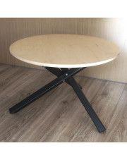 Okrągły minimalistyczny stolik kawowy Inelo R8