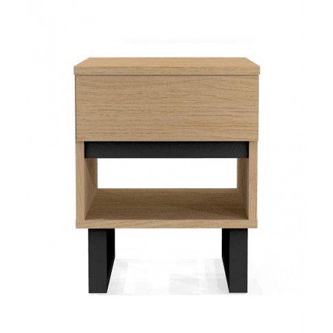 Zdjęcie produktu Dębowa minimalistyczna szafka nocna Harper.