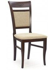 Krzesło drewniane Alvin - ciemny orzech