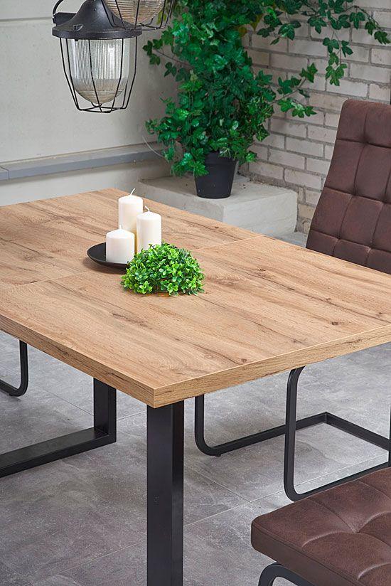 Drewniany rozkładany stół do jadalni Lucy