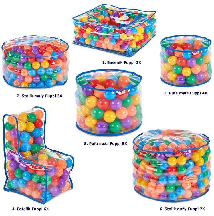 Kolekcja dziecięca z piłeczkami Fuppi