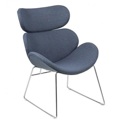 Zdjęcie produktu Komfortowy fotel Beliks 2X - niebieski.