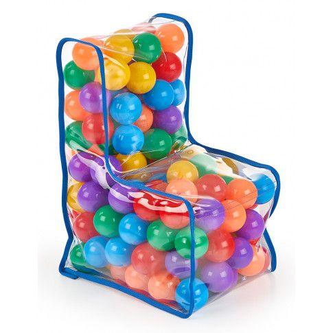 Zdjęcie produktu Fotelik dziecięcy z piłeczkami Fuppi 6X - wielokolorowy.