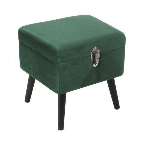 Zdjęcie produktu Otwierana pufa Kamea - zielona.
