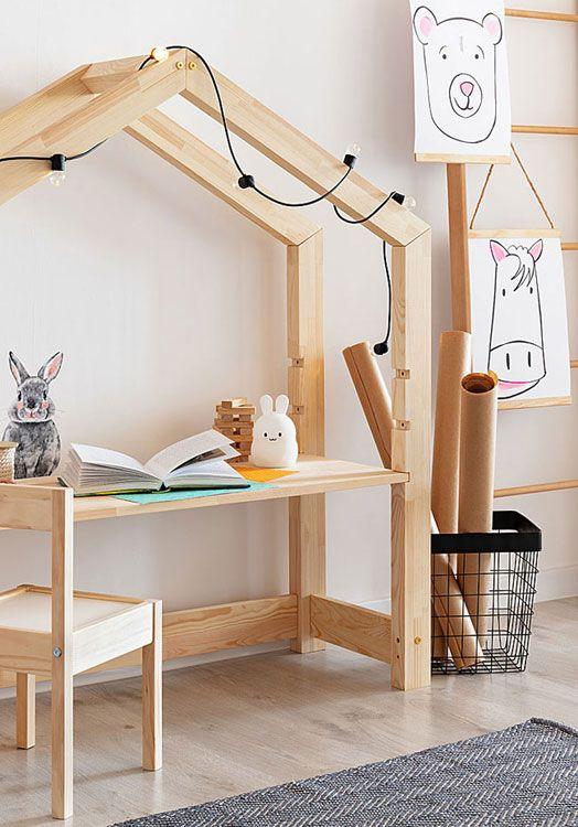 Domek do pokoju dziecka biurko Rosie