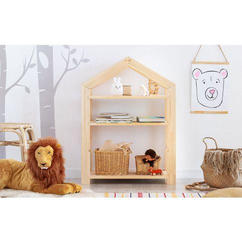 Zdjęcie produktu Regał dziecięcy w formie domku Rosie 4X.