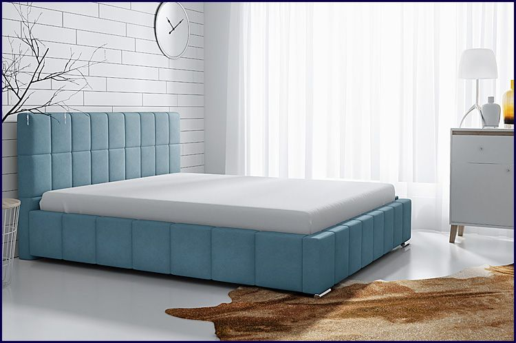 Tapicerowane łóżko Metro X 120x200 cm