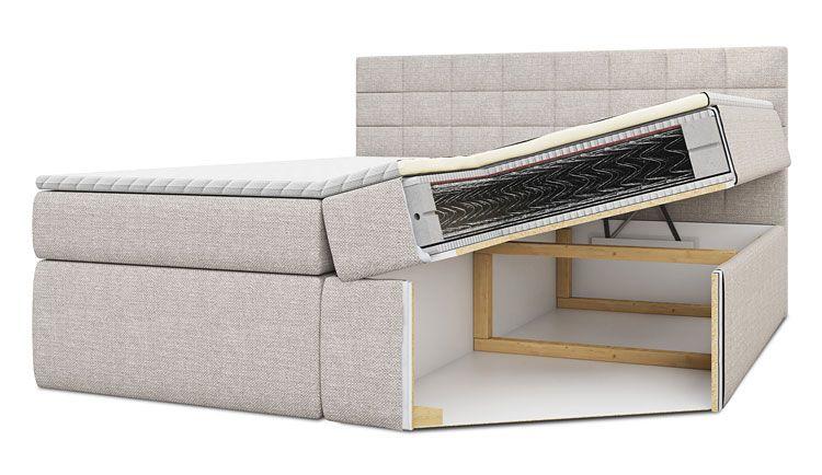 Kontynentalne łóżko Ipanema 120x200