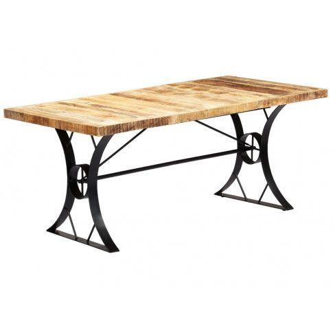 Jasnobrązowy stół z drewna mango Kanis