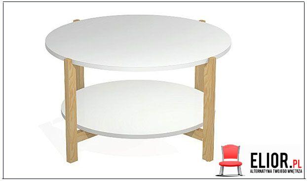 Biała ława w minimalistycznym stylu Inelo L15