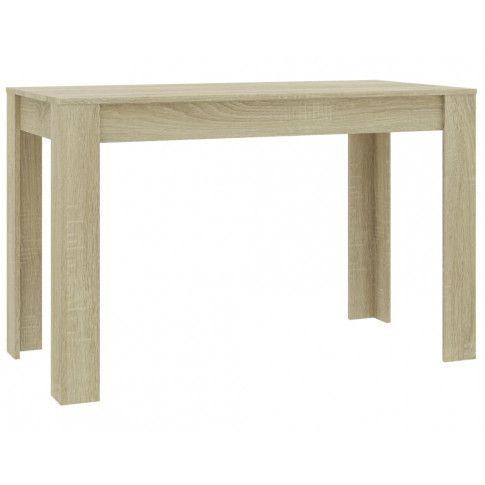 Zdjęcie produktu  Brązowy nowoczesny stół – Sans.