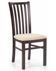 Drewniane krzesło Billy - ciemny orzech