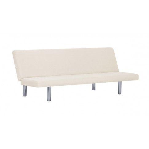 Zdjęcie produktu Sofa minimalistyczna Melwin 2X – kremowa.
