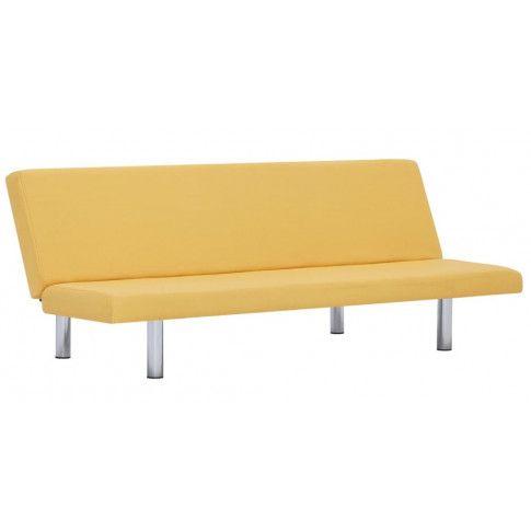 Zdjęcie produktu Sofa tapicerowana Melwin 2X – żółta.