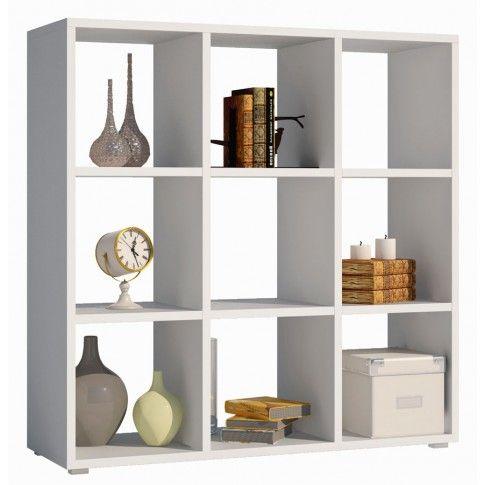 Zdjęcie produktu Regał kwadrat Maleo 6X - biały.