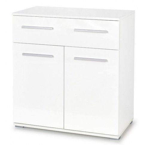 Zdjęcie produktu Modernistyczna komoda Lines C6 - biała.