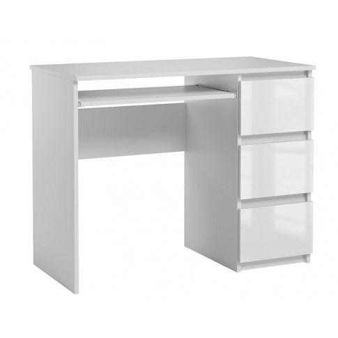 Zdjęcie produktu Lakierowane białe biurko - Aglo.