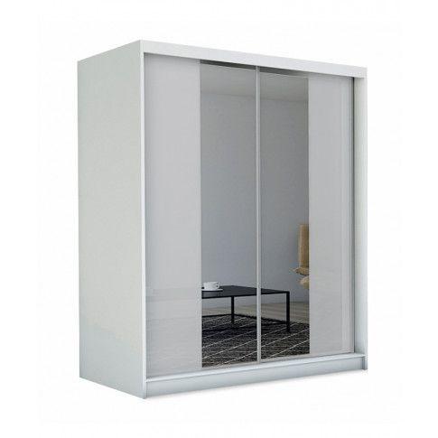 Zdjęcie produktu Szafa przesuwna Grace 3X - biała.
