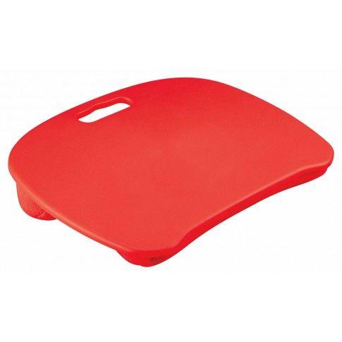 Zdjęcie produktu Stolik pod laptopa Cliper - czerwony.