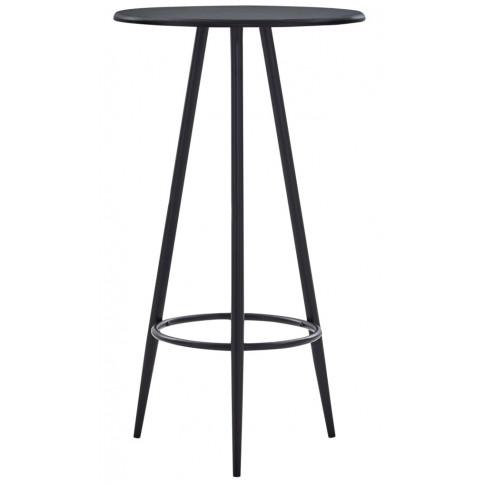 Czarny stolik barowy Hamer