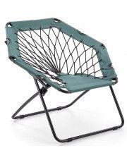 Dziecięcy fotel składany Basket- zielony