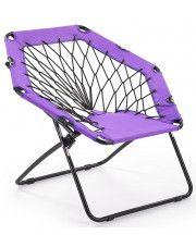 Fotel dla dziecka składany Basket- fioletowy