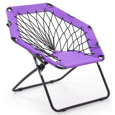 Zdjęcie produktu Fotel dla dziecka składany Basket- fioletowy.