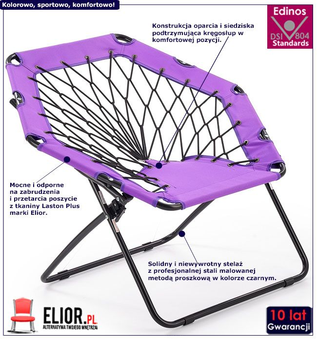 Składany fotel Basket