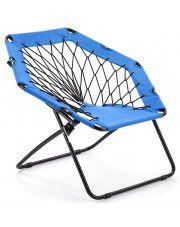Dziecięcy fotelik składany  Basket- niebieski