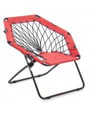 Fotelik dla dzieci składany Basket- czerwony